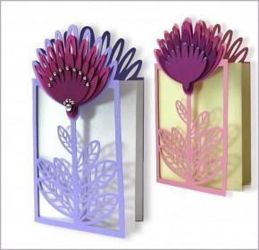 Làm thiệp hoa nổi 3D làm quà tặng ngày 20.10