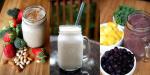 Đẹp cực nhanh nhờ uống sinh tố thay cho ăn sáng
