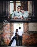 Cười 'vỡ bụng' với hậu trường hình cưới của cặp đôi Hà Nội