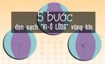 """5 bước dọn dẹp """"Vi-ô"""" lông vùng kín đảm bảo đẹp và không đau"""