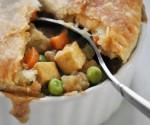 Bắt tay làm món bánh Pot pie trong mềm, ngoài giòn