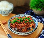 Cách làm cà tím sốt thịt bầm ngon mà nhanh