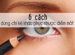 6 cách kẻ mí mắt cơ bản giúp khắc phục nhược điểm