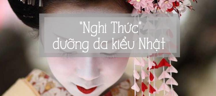 """Phụ nữ Nhật - Dưỡng da là cả một """"Nghi Thức"""""""