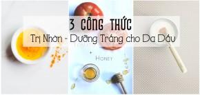 3 loại mặt nạ dưỡng trắng trị nhờn cho da dầu mụn