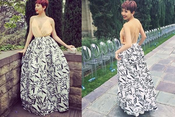 Ngơ ngẩn trước váy áo yêu kiều của sao Việt tháng 6