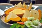 Bánh trứng bí đỏ thơm ngon lạ miệng