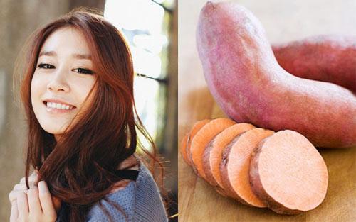 Cách dùng khoai lang để giảm 3-5kg/tháng