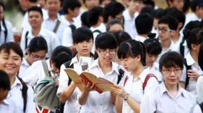 Điểm thi THPT quốc gia ít phân hóa. các trường gặp khó khăn