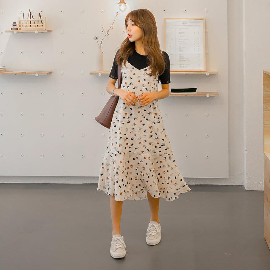 """Điểm danh những kiểu váy hoa cực trendy cho cô nàng """"bánh bèo"""" - ảnh 3"""