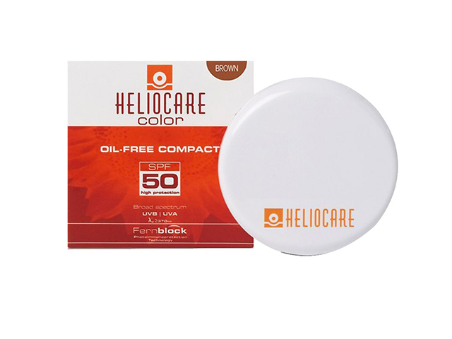 Phấn nền chống nắng màu sáng Heliocare Oil Free Compact SPF 50 Fair